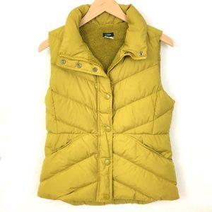 J. CREW Sherpa Puffer Down Vest